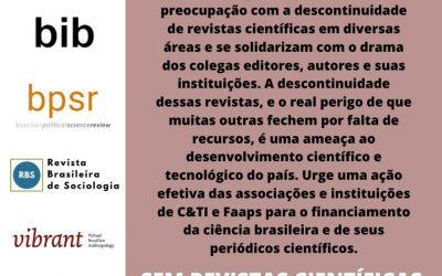 #EmDefesaDaCiênciaBrasileira