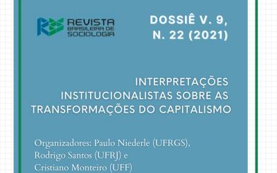 Sociologia econômica e interpretações institucionalistas sobre as transformações do capitalismo